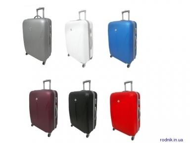 Дорожный чемодан из поликарбоната ROGAL 882 (Польша) малый