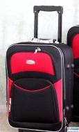 Маленький чемодан на колесах ROGAL 773 (Польша)